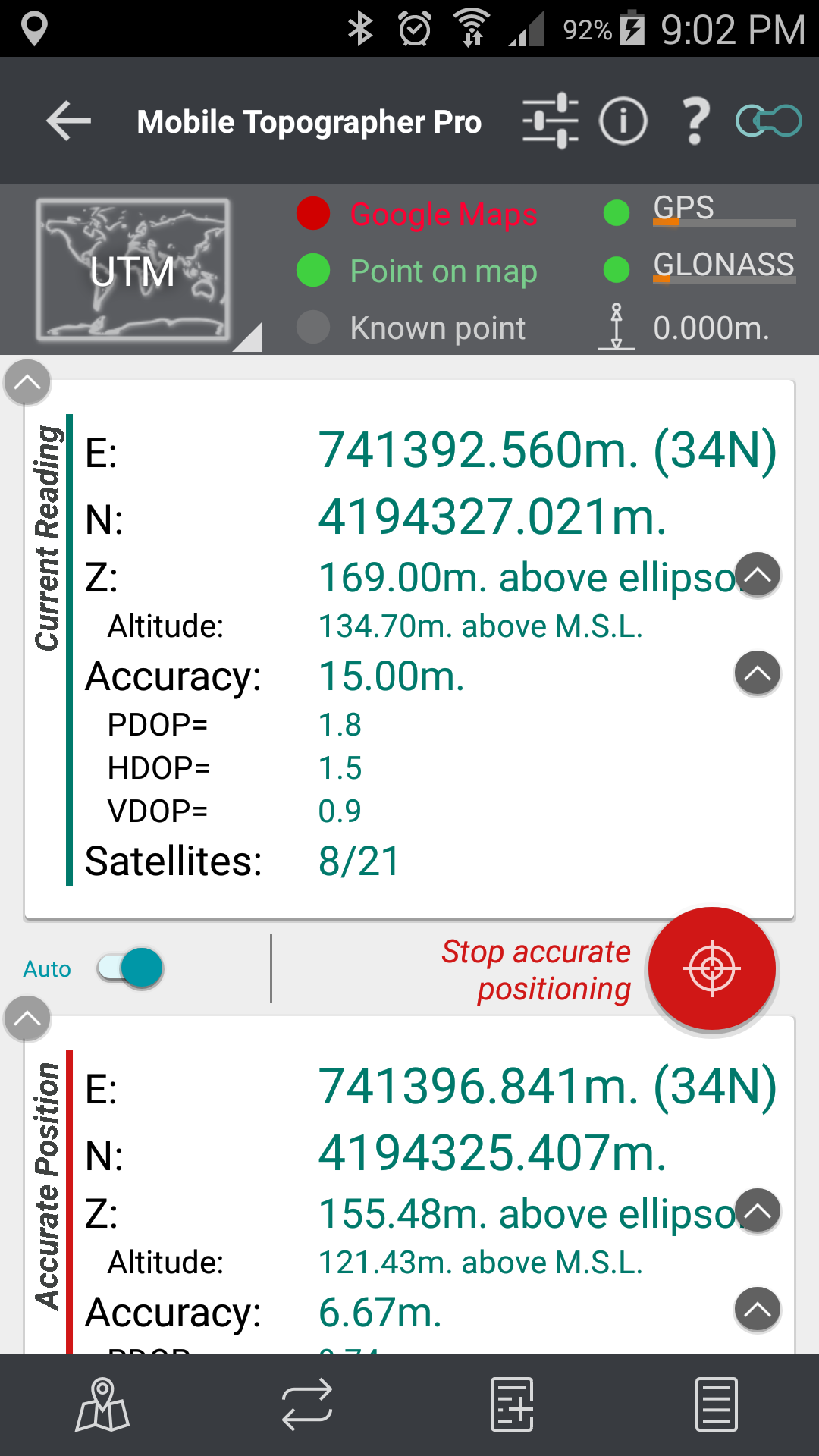 Mobile Topographer Pro – applicality